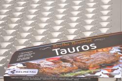 GRELHA GOURMET TAUROS INOX - SELMETAL