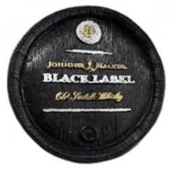 TAMPA DE BARRIL M - BLACK LABEL